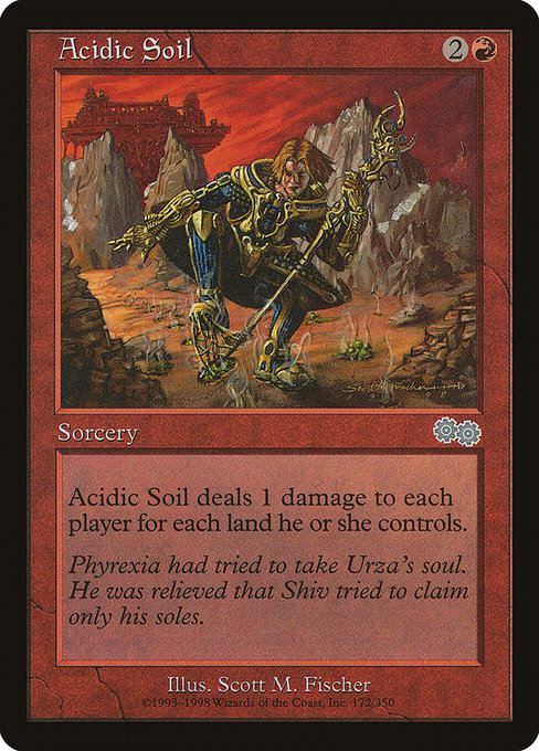 Acidic Soil [Urza's Saga] | Game Theory