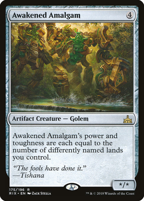 Awakened Amalgam [Rivals of Ixalan] | Game Theory