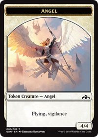 Angel Token [Guilds of Ravnica Tokens] | Game Theory