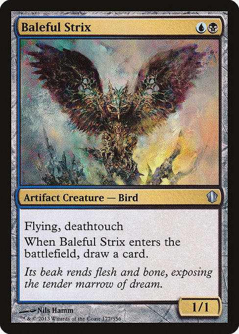 Baleful Strix [Commander 2013] | Game Theory