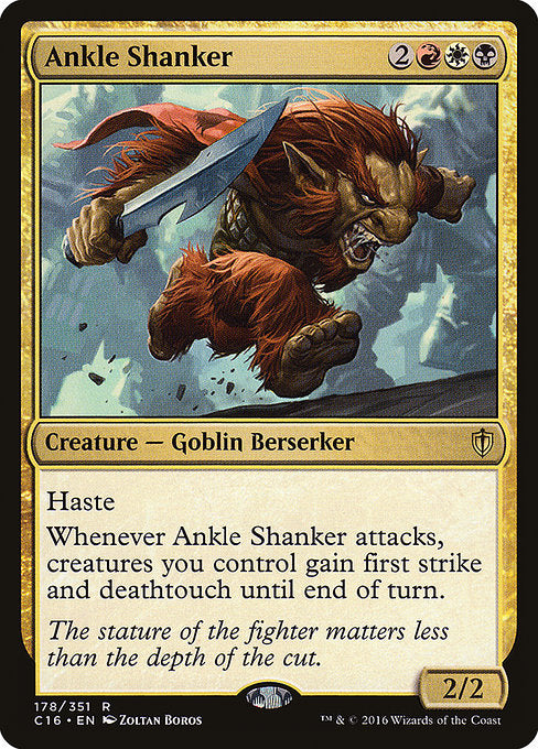 Ankle Shanker [Commander 2016] | Game Theory