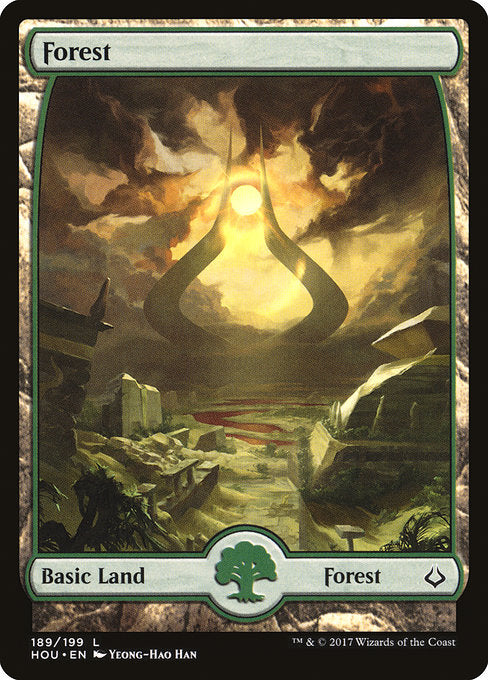 Forest (Full Art) [Hour of Devastation] | Game Theory