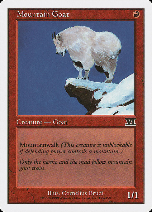 Mountain Goat [Classic Sixth Edition] | Game Theory