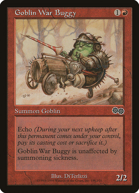 Goblin War Buggy [Urza's Saga] | Game Theory
