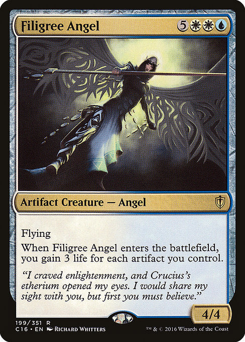 Filigree Angel [Commander 2016] | Game Theory