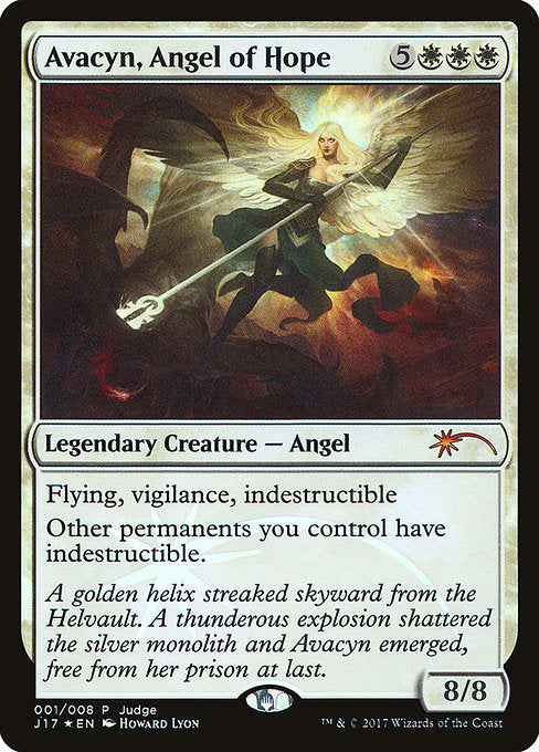 Avacyn, Angel of Hope [Judge Gift Cards 2017] | Game Theory