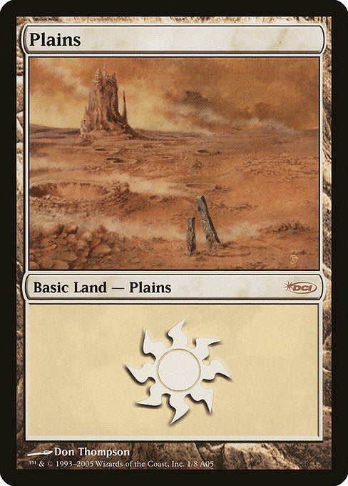 Plains [Arena League 2005] | Game Theory