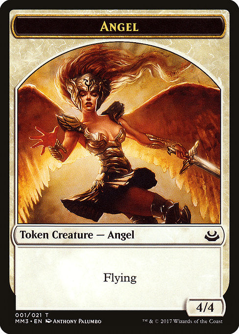 Angel [Modern Masters 2017 Tokens] | Game Theory