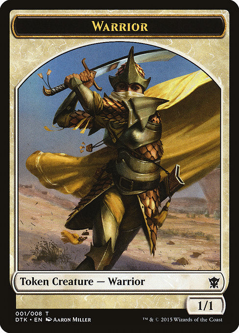 Warrior [Dragons of Tarkir Tokens] | Game Theory