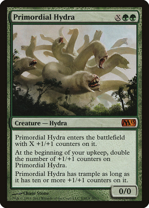 Primordial Hydra [Duels of the Planeswalkers Promos 2012] | Game Theory