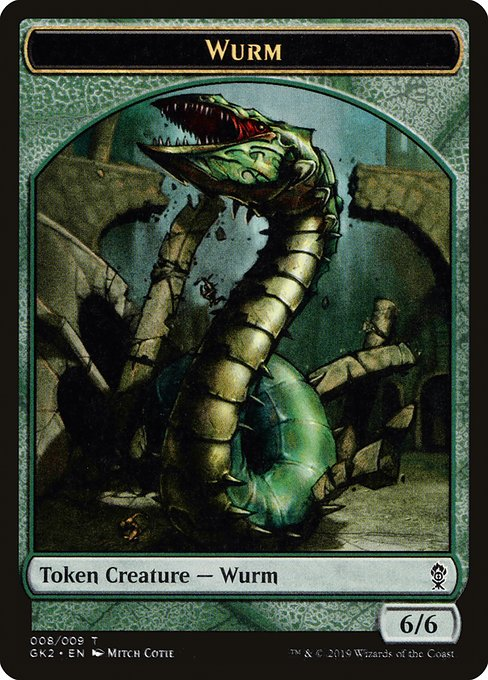 Wurm [RNA Guild Kit Tokens] | Game Theory