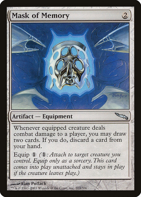 Mask of Memory [Mirrodin] | Game Theory