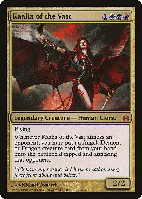 Kaalia of the Vast [Commander 2011] | Game Theory