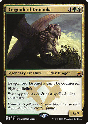 1x FOIL Haven of the Spirit Dragon MTG Dragons of Tarkir Lightly Played//Played