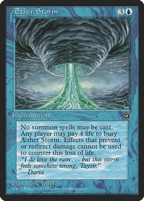 Aether Storm [Homelands] | Game Theory