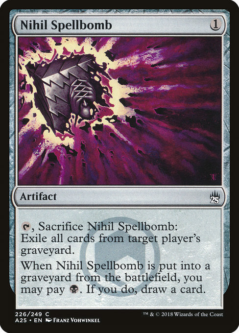 Nihil Spellbomb [Masters 25] | Game Theory
