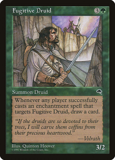Fugitive Druid [Tempest] | Game Theory
