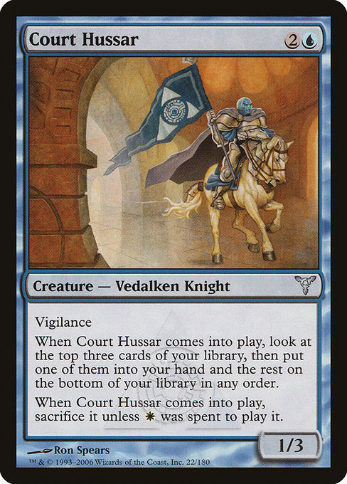 Court Hussar [Dissension] | Game Theory