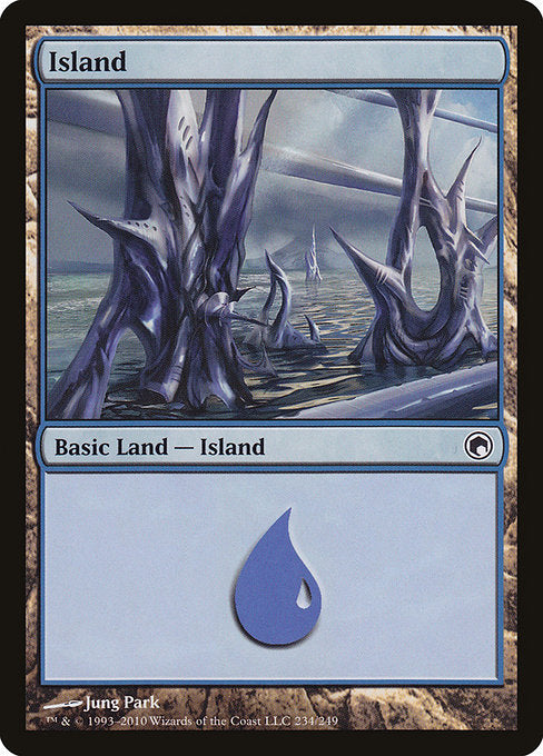 Island (234) [Scars of Mirrodin] | Game Theory