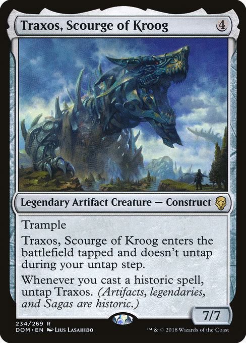 Traxos, Scourge of Kroog [Dominaria] | Game Theory