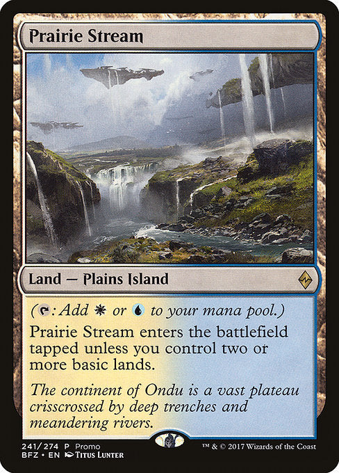 Prairie Stream [BFZ Standard Series] | Game Theory