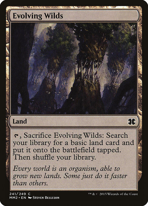 Evolving Wilds [Modern Masters 2015] | Game Theory