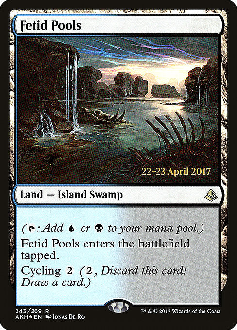Fetid Pools [Amonkhet Promos] | Game Theory