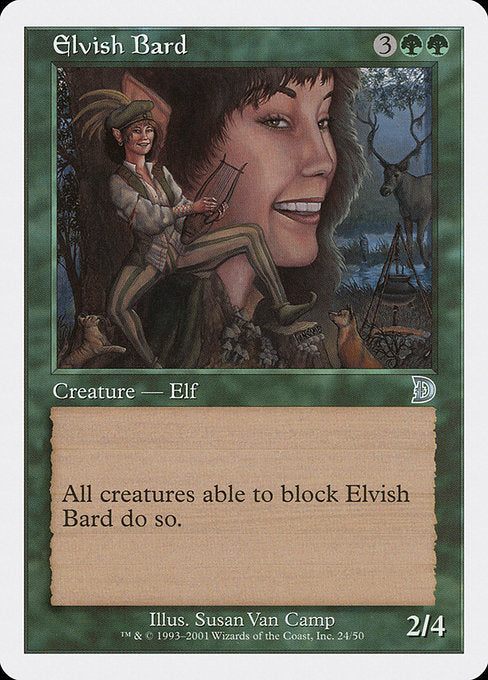 Elvish Bard [Deckmasters] | Game Theory