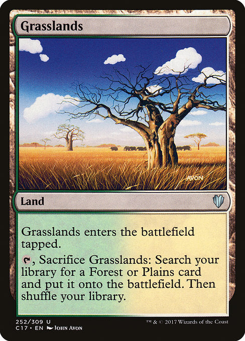 Grasslands [Commander 2017] | Game Theory