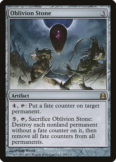 Oblivion Stone [Commander 2011] | Game Theory