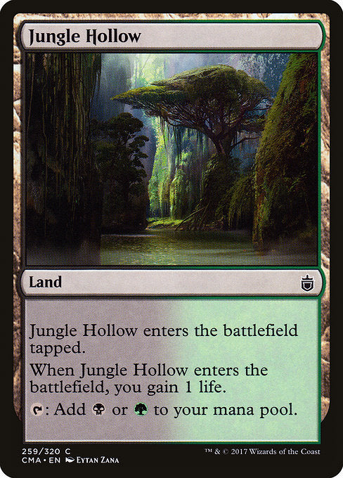 Jungle Hollow [Commander Anthology] | Game Theory