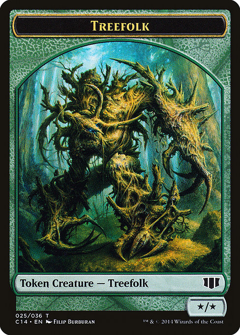 Treefolk // Wolf [Commander 2014 Tokens] | Game Theory