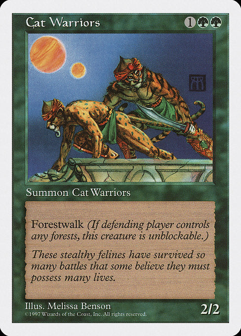 Cat Warriors [Fifth Edition] | Game Theory