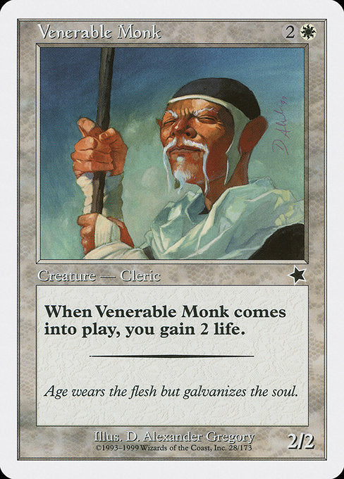 Venerable Monk [Starter 1999] | Game Theory