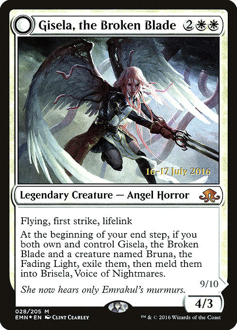 Gisela, the Broken Blade [Eldritch Moon Promos] | Game Theory