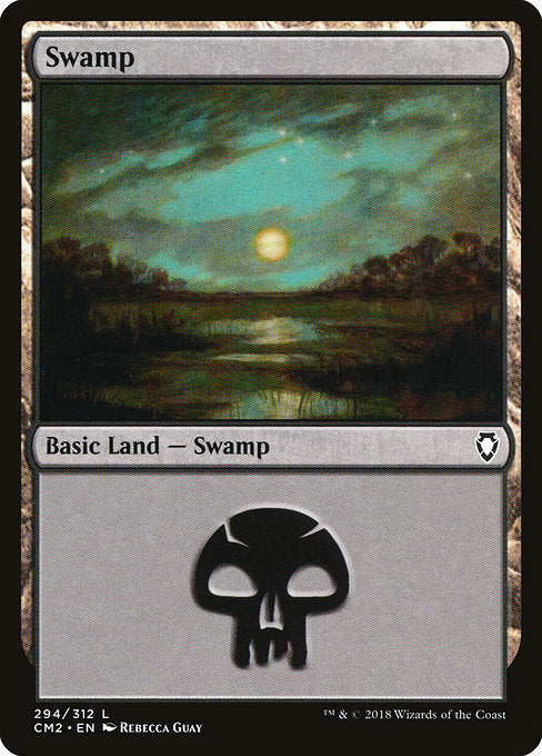 Swamp [Commander Anthology Volume II] | Game Theory