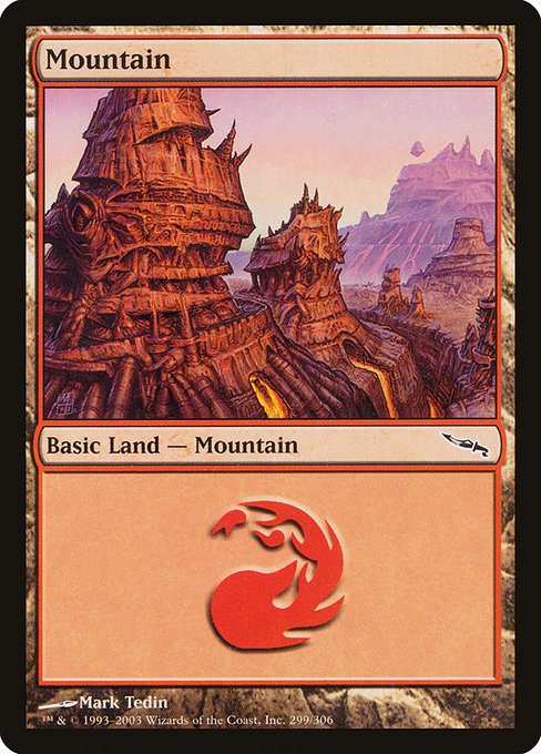 Mountain (299) [Mirrodin] | Game Theory