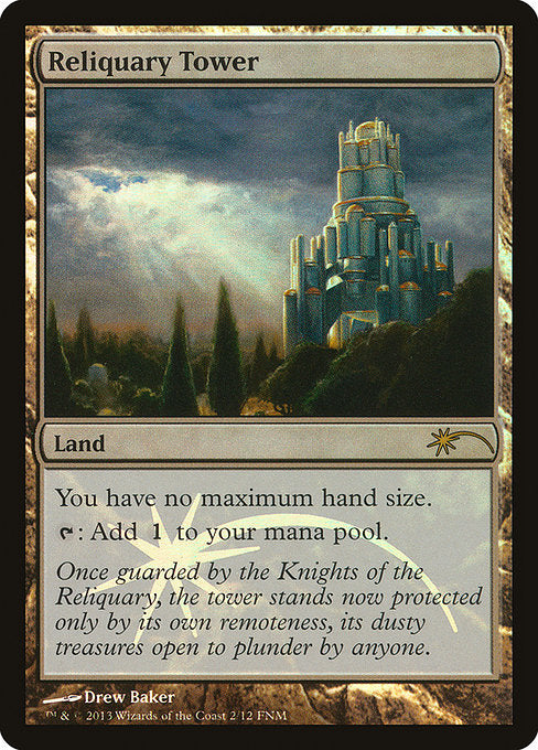 Reliquary Tower [Friday Night Magic 2013] | Game Theory