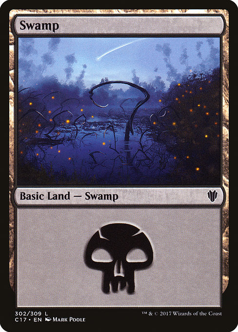 Swamp [Commander 2017] | Game Theory