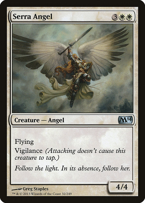 Serra Angel [Magic 2014] | Game Theory