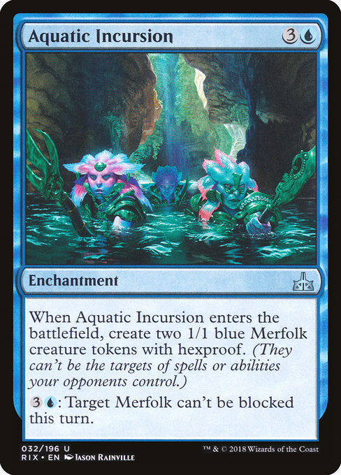 Aquatic Incursion [Rivals of Ixalan] | Game Theory