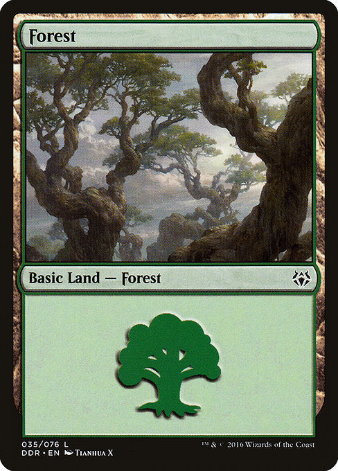 Forest [Duel Decks: Nissa vs. Ob Nixilis] | Game Theory