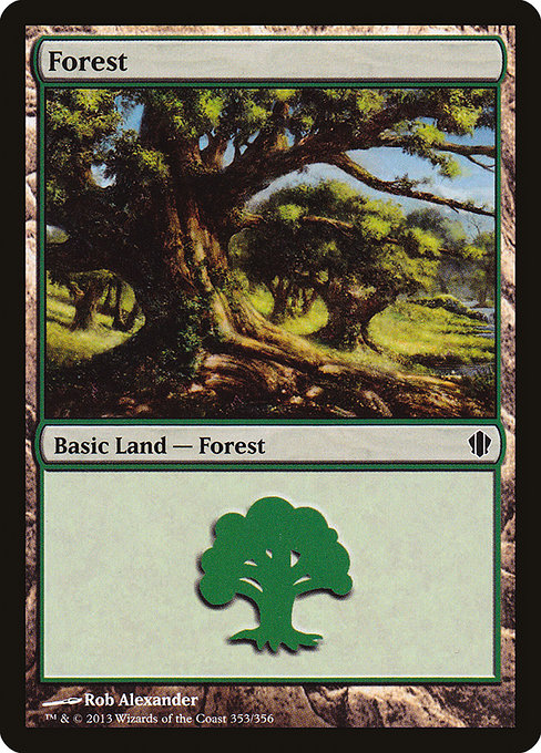Forest [Commander 2013] | Game Theory