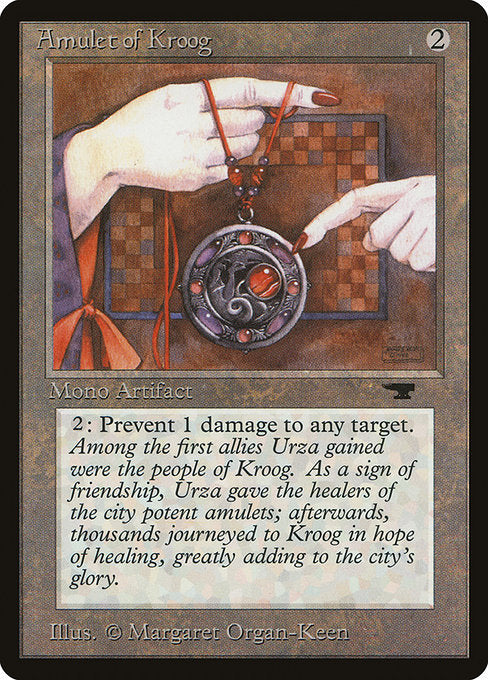 Amulet of Kroog [Antiquities] | Game Theory