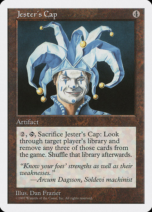 Jester's Cap [Fifth Edition] | Game Theory