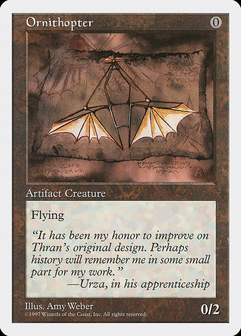 Ornithopter [Fifth Edition] | Game Theory