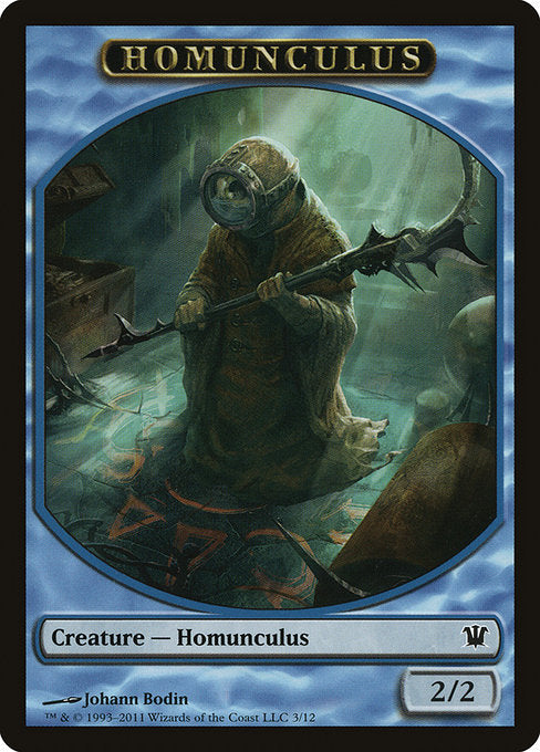 Homunculus [Innistrad Tokens] | Game Theory