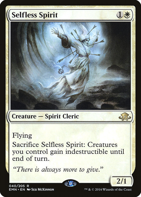 Selfless Spirit [Eldritch Moon] | Game Theory