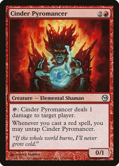 Cinder Pyromancer [Duels of the Planeswalkers] | Game Theory