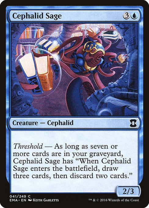 Cephalid Sage [Eternal Masters] | Game Theory